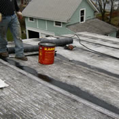 Roofing and Siding Contractor.
