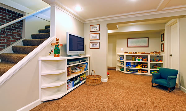 Turning Your Basement Into A Playroom.