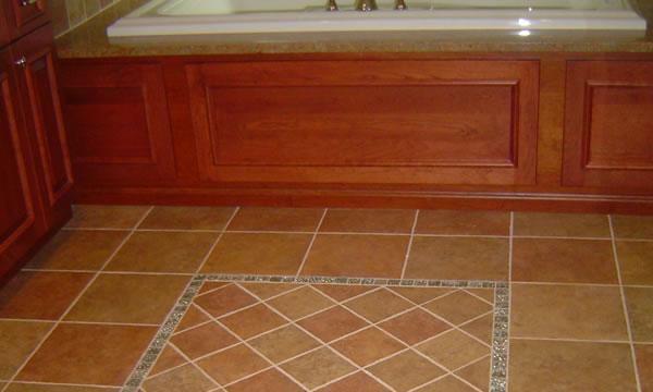 Bathroom Tile Flooring Installer in Union County, New Jersey.