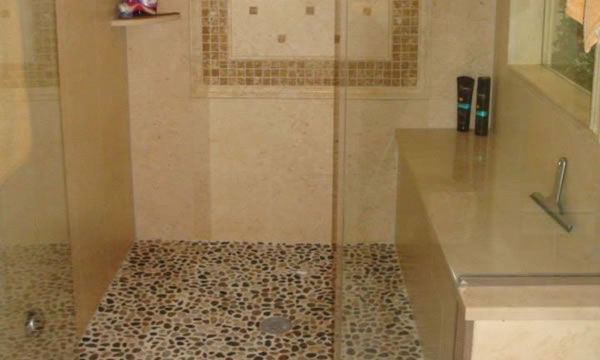 Custom Tile and Stone Showers in Union County, NJ,