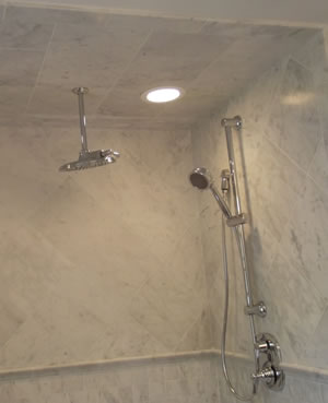 Custom Tile Shower Builder in Union County, NJ.