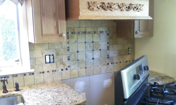 Kitchen Tile Backsplash Installer in Union County, New Jersey.
